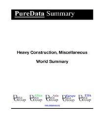 Heavy Construction, Miscellaneous World Summary