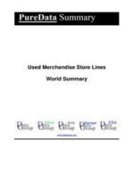 Used Merchandise Store Lines World Summary