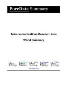 Telecommunications Reseller Lines World Summary: Market Values & Financials by Country