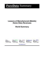Lessors of Manufactured (Mobile) Home Sites Revenues World Summary