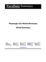 Passenger Car Rental Revenues World Summary