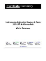 Instruments, Indicating Devices & Parts (C.V. OE & Aftermarket) World Summary