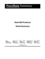 Steel Mill Products World Summary