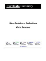 Glass Containers, Applications World Summary