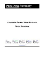 Crushed & Broken Stone Products World Summary