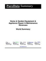 Home & Garden Equipment & Appliance Repair & Maintenance Revenues World Summary