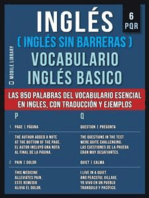 6 - PQR - Inglés (Inglés Sin Barreras) Vocabulario Inglés Basico
