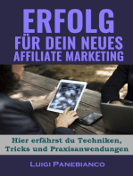 Erfolg für Dein neues Affiliate Marketing