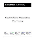 Recyclable Material Wholesale Lines World Summary