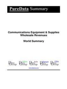 Communications Equipment & Supplies Wholesale Revenues World Summary: Market Values & Financials by Country