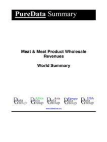 Meat & Meat Product Wholesale Revenues World Summary: Market Values & Financials by Country