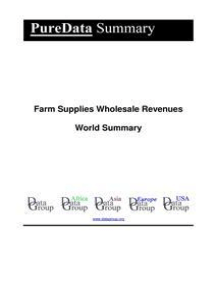 Farm Supplies Wholesale Revenues World Summary: Market Values & Financials by Country