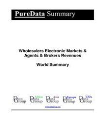 Wholesalers Electronic Markets & Agents & Brokers Revenues World Summary: Market Values & Financials by Country