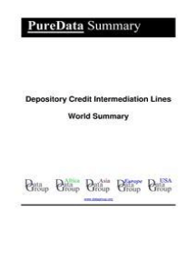 Depository Credit Intermediation Lines World Summary: Market Values & Financials by Country