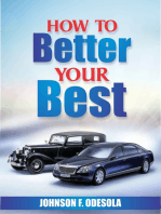 How To Better Your Best