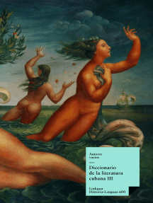 Diccionario de la literatura cubana III
