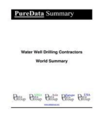 Water Well Drilling Contractors World Summary
