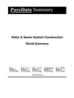 Water & Sewer System Construction World Summary