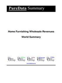 Home Furnishing Wholesale Revenues World Summary: Market Values & Financials by Country