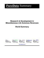 Research & Development in Miscellaneous Life Sciences Revenues World Summary