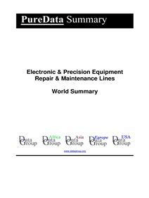 Electronic & Precision Equipment Repair & Maintenance Lines World Summary