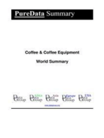 Coffee & Coffee Equipment World Summary
