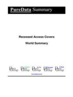 Recessed Access Covers World Summary