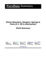 Shock Absorbers, Dampers, Springs & Parts (C.V. OE & Aftermarket) World Summary