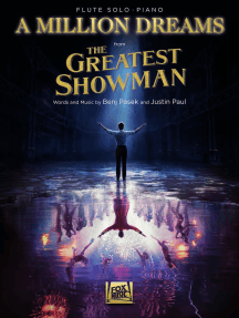 A Million Dreams (from The Greatest Showman): Flute with Piano Accompaniment