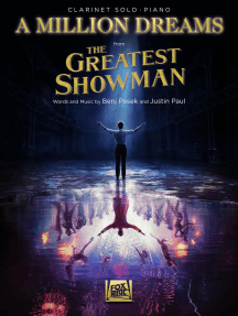 A Million Dreams (from The Greatest Showman): Clarinet with Piano Accompaniment