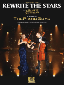 Rewrite the Stars: Arranged for Piano, Cello & Violin