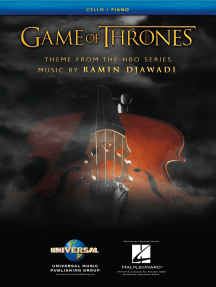 Game of Thrones: Theme Arranged for Cello & Piano