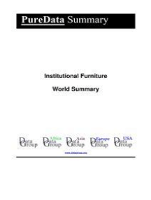 Institutional Furniture World Summary: Market Values & Financials by Country
