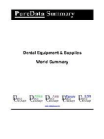 Dental Equipment & Supplies World Summary