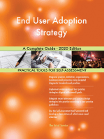 End User Adoption Strategy A Complete Guide - 2020 Edition