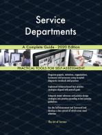 Service Departments A Complete Guide - 2020 Edition