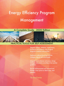 Energy Efficiency Program Management A Complete Guide - 2020 Edition