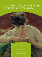 A Vindication of the Rights of Woman (Barnes & Noble Library of Essential Reading)