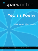 Yeats's Poetry (SparkNotes Literature Guide)