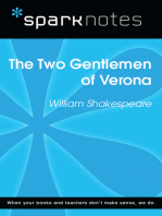 The Two Gentlemen of Verona (SparkNotes Literature Guide)