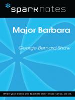 Major Barbara (SparkNotes Literature Guide)