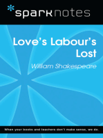 Love's Labours Lost (SparkNotes Literature Guide)