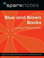 Blue and Brown Books (SparkNotes Philosophy Guide)