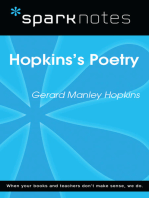 Hopkins's Poetry (SparkNotes Literature Guide)