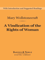 A Vindication of the Rights of Woman (Barnes & Noble Digital Library)