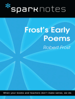 Frost's Early Poems (SparkNotes Literature Guide)