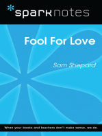 Fool For Love (SparkNotes Literature Guide)