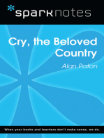Cry, the Beloved Country (SparkNotes Literature Guide)