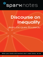 Discourse on Inequality (SparkNotes Philosophy Guide)