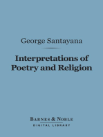 Interpretations of Poetry and Religion (Barnes & Noble Digital Library)